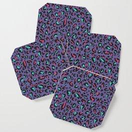 Ultra Violet Leopard Signature Andreiaqua Coaster