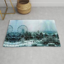 Cold Forest Playground Rug