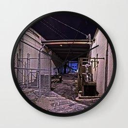 AlleyWay Wall Clock