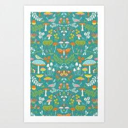 Flora Autumn Art Print