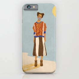 Girl who Loves Jumpers iPhone Case