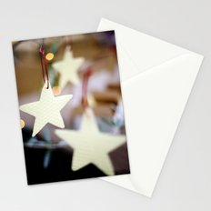 Christmas Stars Stationery Cards