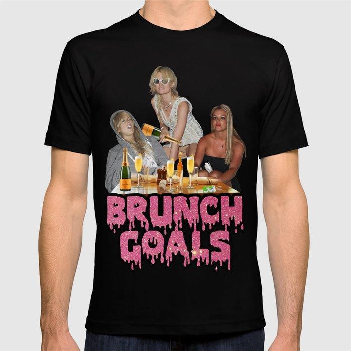 #BRUNCH GOALS T-shirt