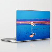 flamingo Laptop & iPad Skins featuring Flamingo by EclipseLio