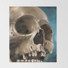 Skull 1 Throw Blanket