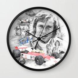 James Hunt Wall Clock