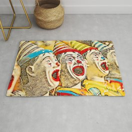 Clown Class (color graphic) Rug