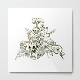 Pyramid (Wonderful Mess Series) Metal Print