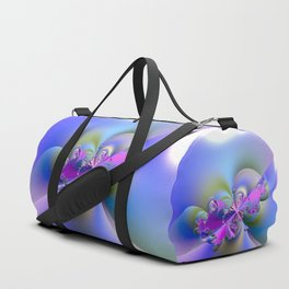Fun, Joy and Happiness - Fractal Explosion Duffle Bag