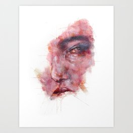 Sadness in Youth Art Print