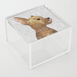 Miniature Pincher Acrylic Box