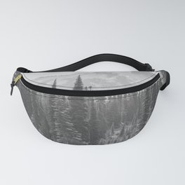 Escape to the Wilds - Black and White Nature Photography Fanny Pack