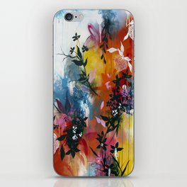 Calyces Fruits Abstract iPhone Skin
