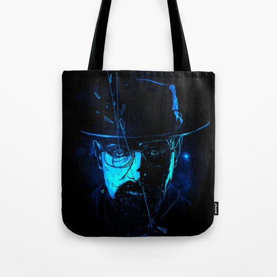Mr. White (Crystal Blue) Tote Bag