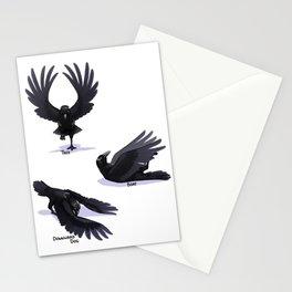 Yoga Raven Stationery Cards