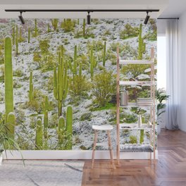 Frosty Tall Ones Wall Mural
