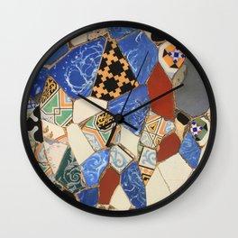 Mosaic decoration Wall Clock