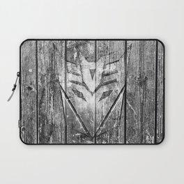 Decepticon Monochrome Wood Texture Laptop Sleeve