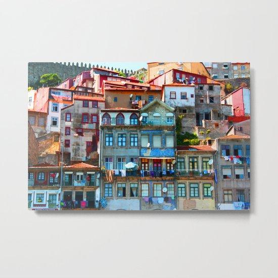 Houses Metal Print