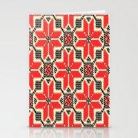 ukraine Stationery Cards featuring Folk Ukraine  by florenceK