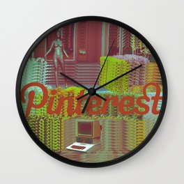 ΔQUA ΔGE Wall Clock