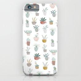 cute plants iPhone Case