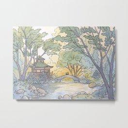 Dream - Watercolor Painting Metal Print