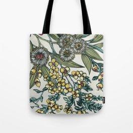 Australian Native Floral Tote Bag