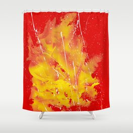 Explosion of colors_5 Shower Curtain