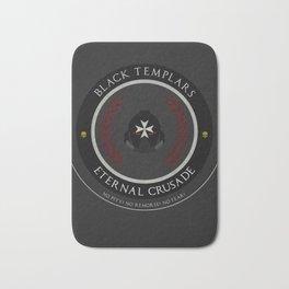 Black Templars Style Bath Mat