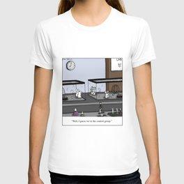 Control Group Lab Mice Cartoon T-shirt