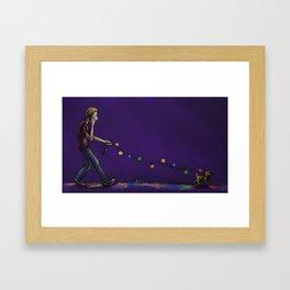 Leashless Framed Art Print