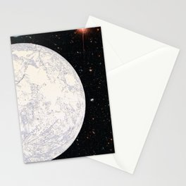 Moon machinations Stationery Cards