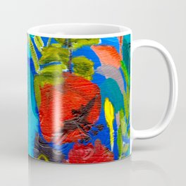 Blue Garden Coffee Mug