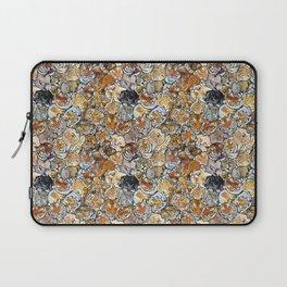 Big Cat Collage Laptop Sleeve