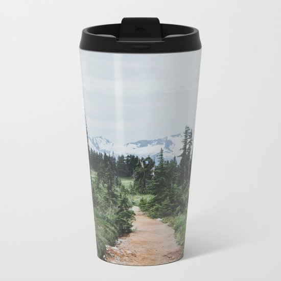 Forest Trail Metal Travel Mug