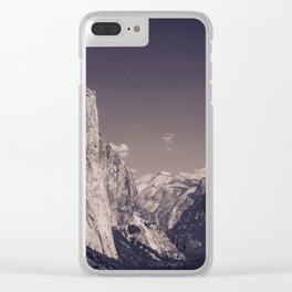 El Capitan & Yosemite Valley Clear iPhone Case