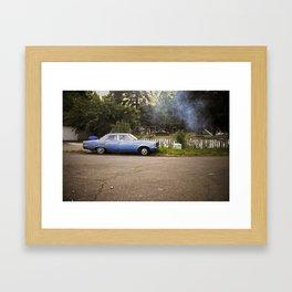 chehalis reservation. Framed Art Print