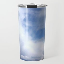 Coastal Clouds Seascape Cancale Bretagne France Travel Mug