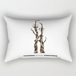 Friends Stick Together by dana alfonso Rectangular Pillow