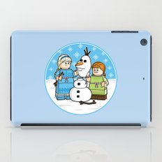 Want to Build a Snowman? iPad Case