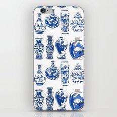 Blue Vases iPhone & iPod Skin