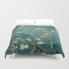Van Gogh Blossoming Almond Tree Duvet Cover