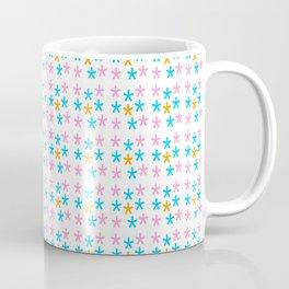 stars 5-multicolor stars,stars,yellow,night,sky,light dark,kitsch,rays,hope,pointed Coffee Mug
