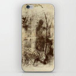 paleo warrior iPhone Skin