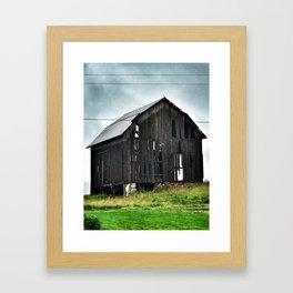 East Cayuga Lake Barn Framed Art Print