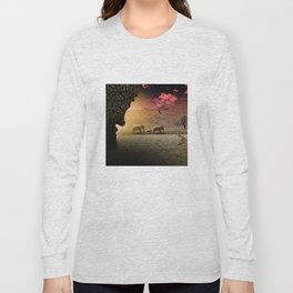 Stalking nature Long Sleeve T-shirt