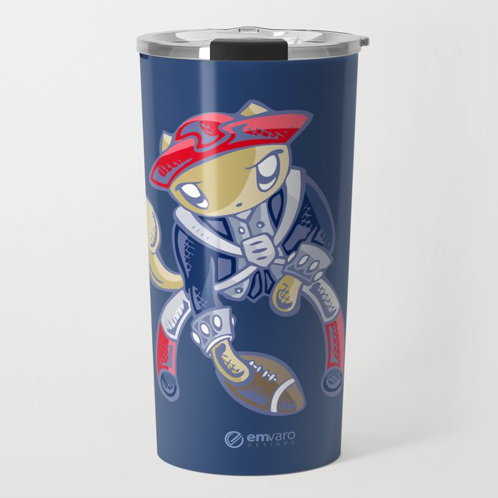 Skribbles: Go Patriots Travel Mug