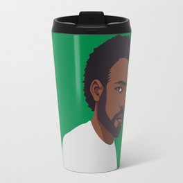 CHILDISH GAMBINO | green Travel Mug