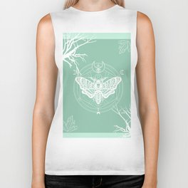 Witch Craft Mint Biker Tank